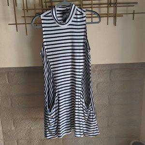 Trixxi jersey ribbed dress